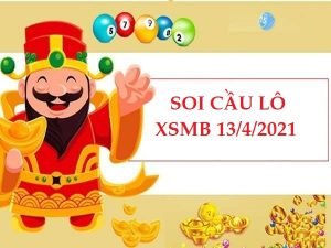 Soi cầu lô VIP KQXSMB 13/4/2021 hôm nay thứ 3