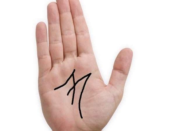 Bàn tay chữ M ở nam giới