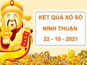 Soi cầu kết quả SX Ninh Thuận 22/10/2021 thứ 6 hôm nay